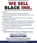 WE SELL BLACK INK