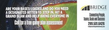 ARE YOUR BASES LOADED AND DO YOU NEED A DESIGNATED HITTER TO STEP IN?
