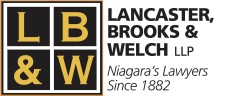 Niagara's Lawyers: LANCASTER, BROOKS & WELCH