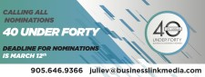 15TH ANNUAL 40 UNDER FORTY BUSINESS ACHIEVEMENT AWARDS