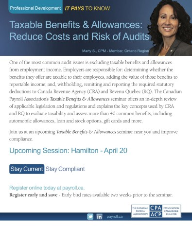 Taxable Benefits & Allowances: Reduce Costs and Risk of Audits
