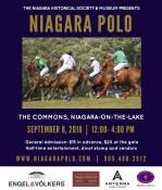 THE NIAGARA HISTORICAL SOCIETY & MUSEUM PRESENTS NIAGARA POLO